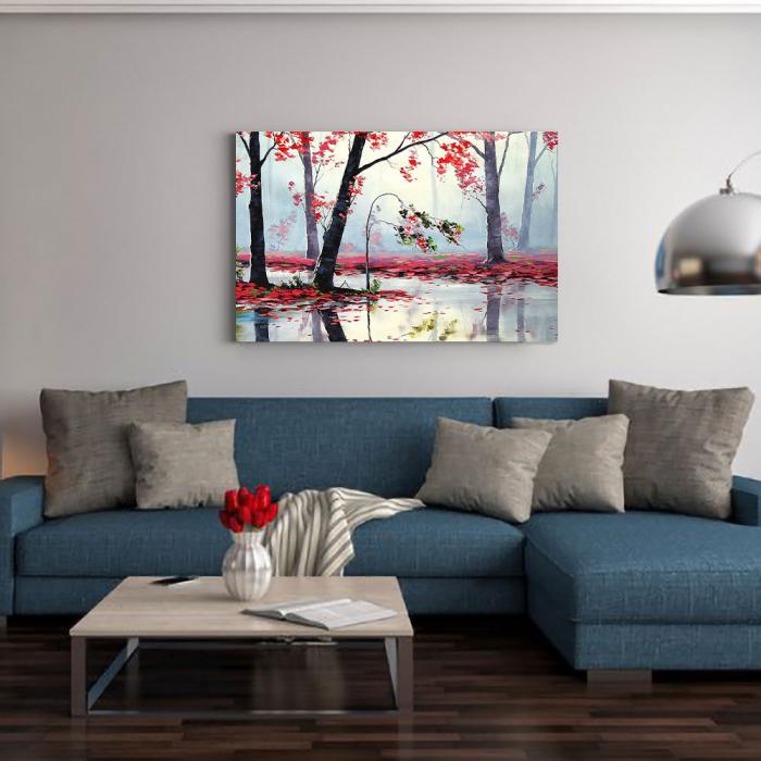Tablou Canvas - Suflarea Toamnei 1