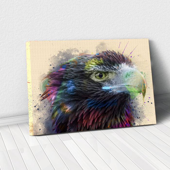 Tablou Canvas - Vultur - Cromatica 0