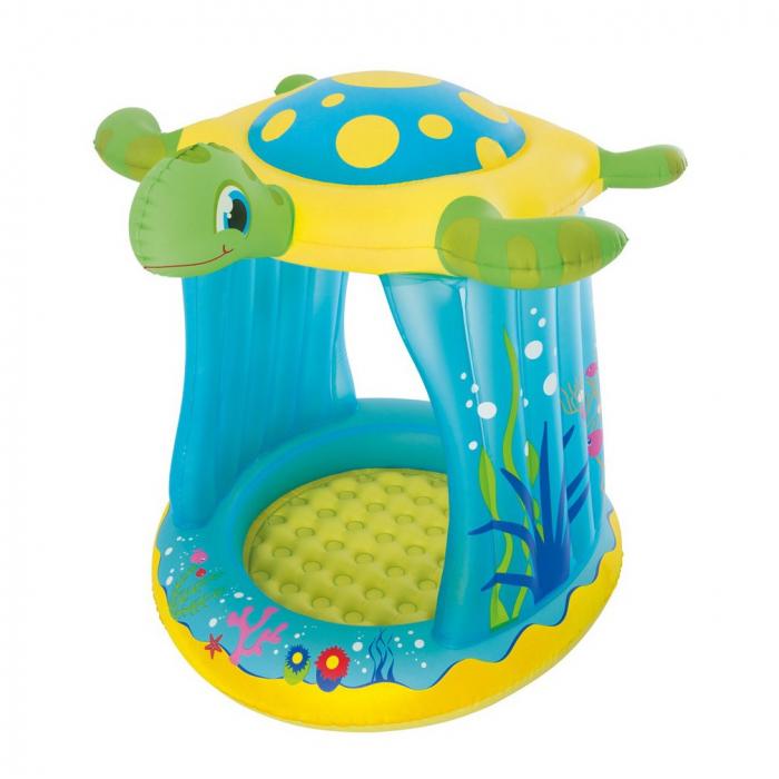 Piscină gonflabilă Țesoasă,pentru copii, 109 x 96 x 104 cm [0]