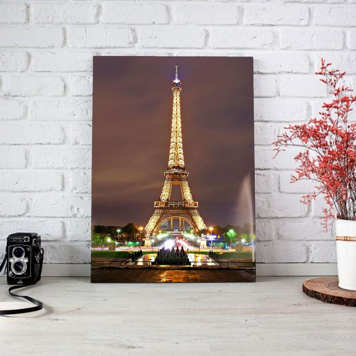 Tablou Canvas - Eiffel [3]