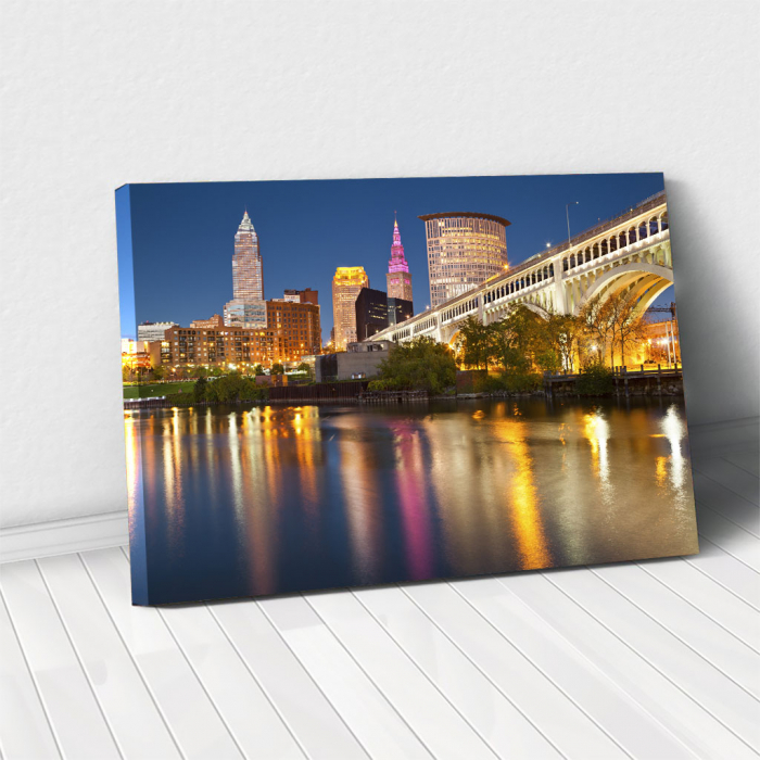 Tablou Canvas - Cleveland 0
