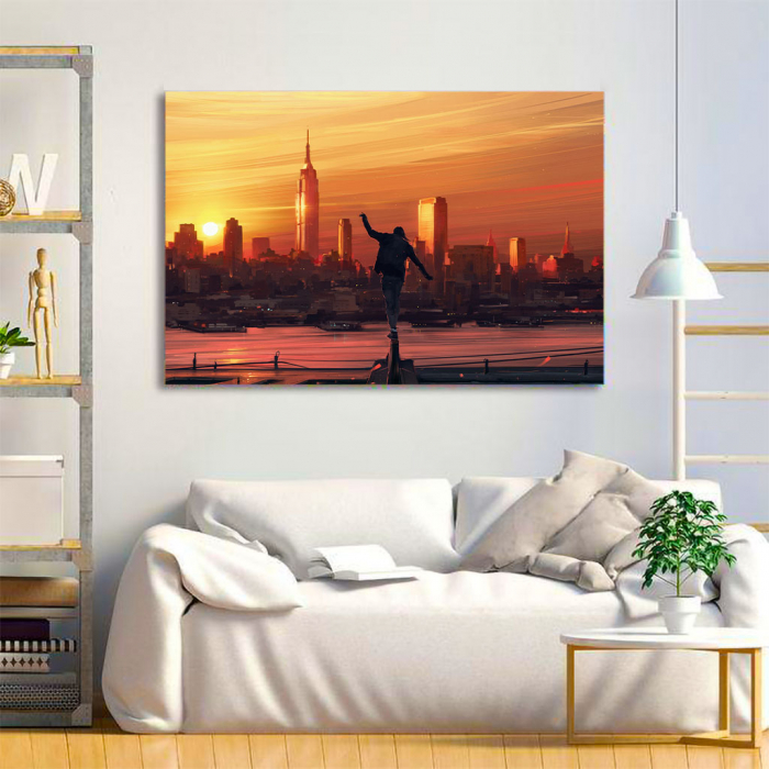 Tablou Canvas - King of the city 1