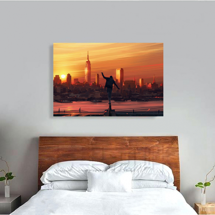Tablou Canvas - King of the city 3