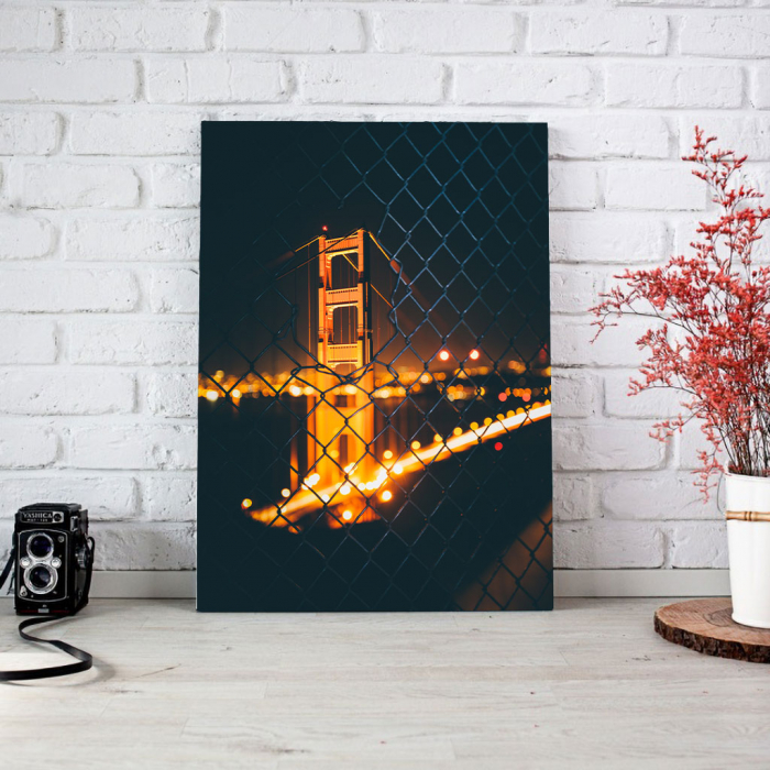 Tablou Canvas - Bridge view 1