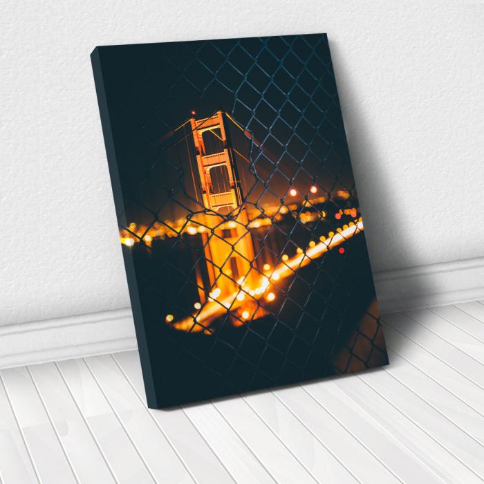 Tablou Canvas - Bridge view [0]