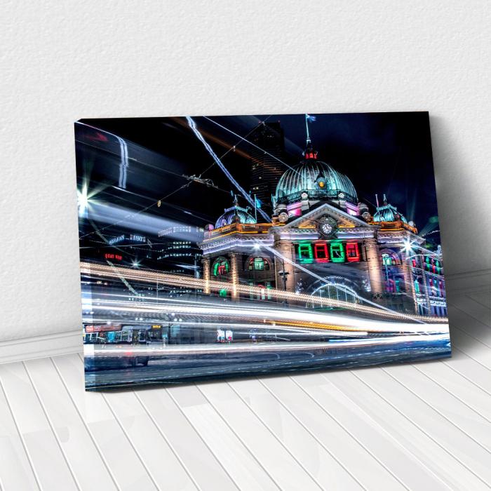Tablou Canvas - Lumini urbane 0