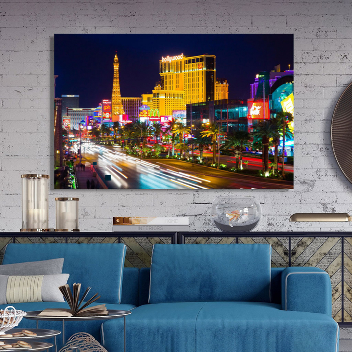 Tablou Canvas - Vegas in the night 3