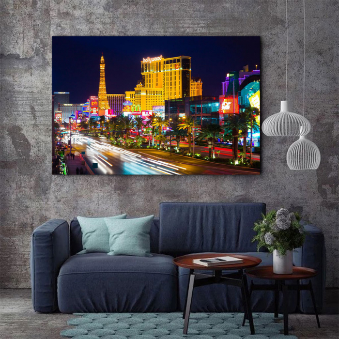 Tablou Canvas - Vegas in the night 4