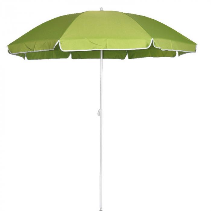 Umbrelă grădină/plajă, 1.8 m, verde 0
