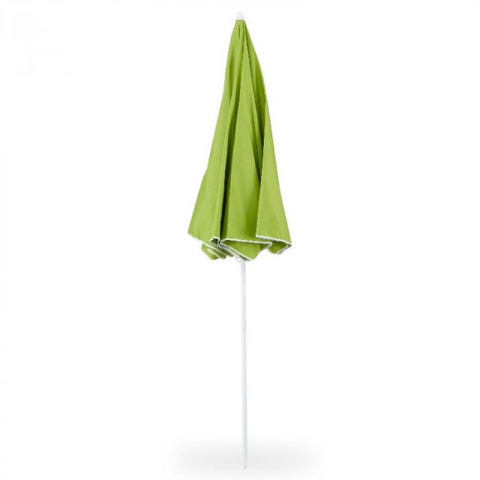 Umbrelă grădină/plajă, 1.8 m, verde 1