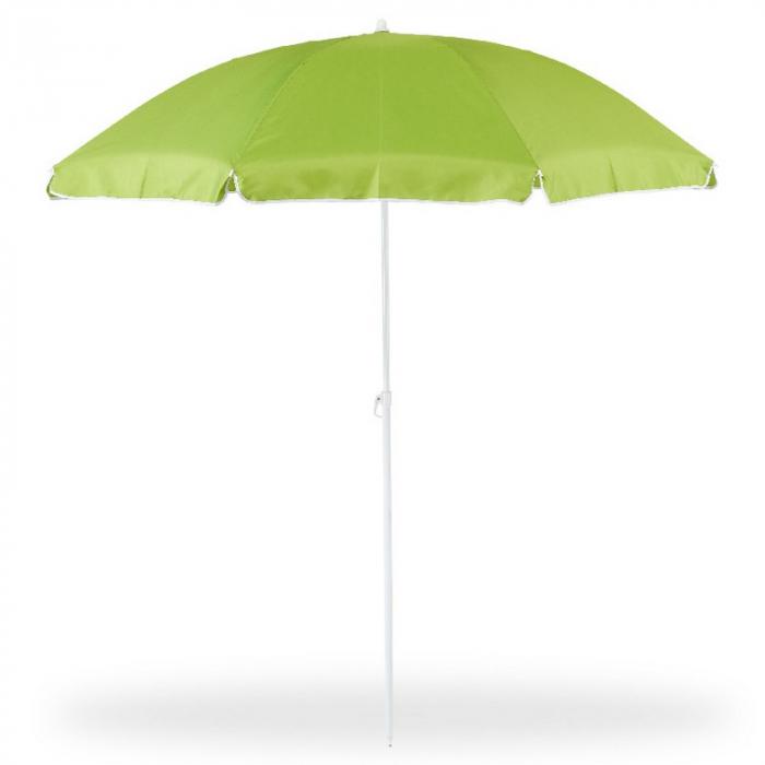 Umbrelă grădină/plajă, 1.8 m, verde 2