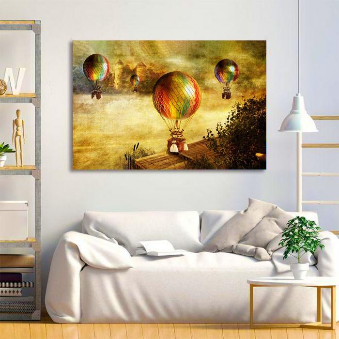Tablou Canvas - Vintage baloons 1