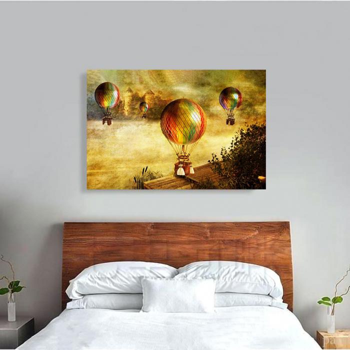 Tablou Canvas - Vintage baloons 3