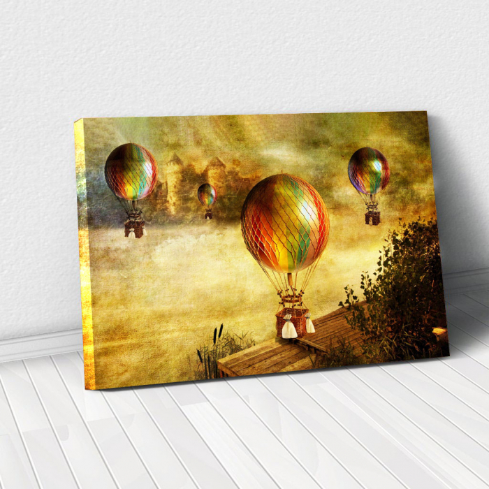 Tablou Canvas - Vintage baloons 0