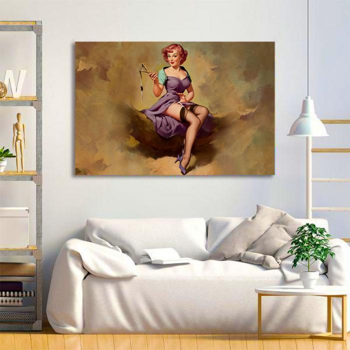 Tablou Canvas - Vintage style 1