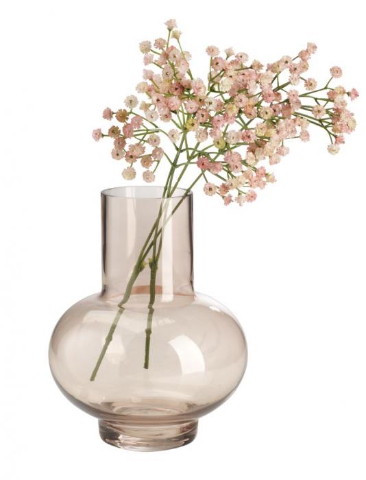 Vază decorativă din sticlă - 22cm 1