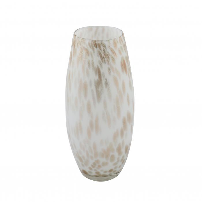 Vază decorativă din sticlă colorată 26 cm 0