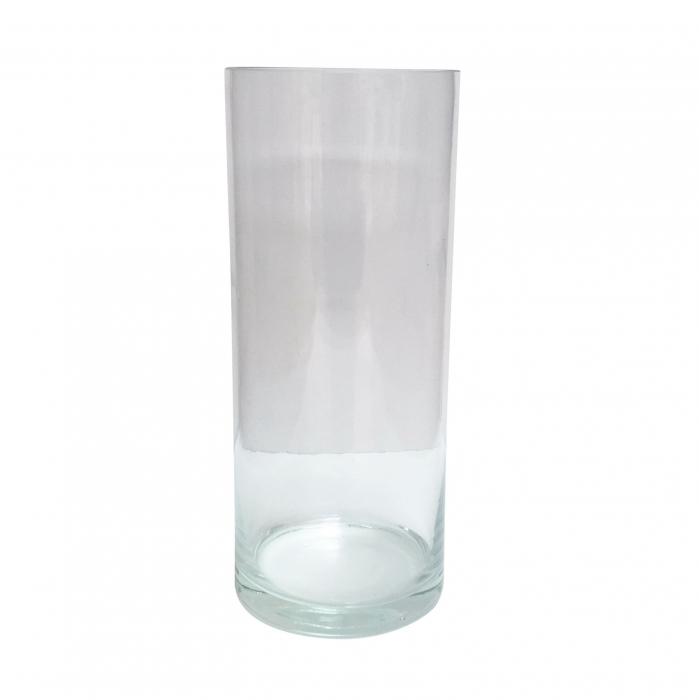 Vază decorativă din sticlă - 12x30cm [0]