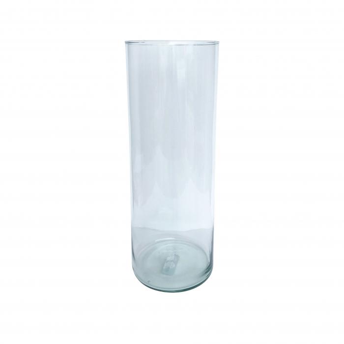 Vază decorativă din sticlă - 15x50cm [0]