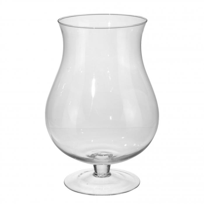 Vază decorativă din sticlă - 33cm [0]