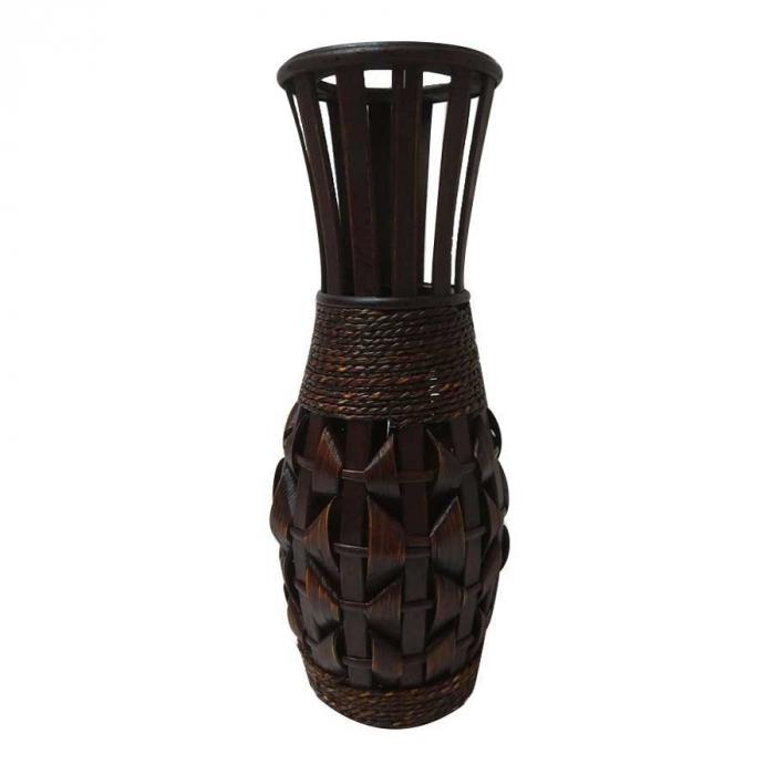 Vază decorativă din bambus - 40cm 0