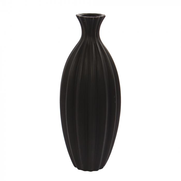 Vază decorativă neagră - 39cm 0