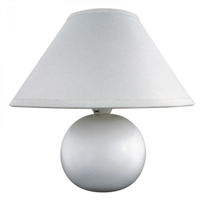 Veioza Brina, tip soclu E14, putere maximă 40 W, culoare alb [0]