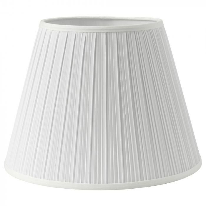 Veioză Briana cu cadru metalic, albă - 50cm 1