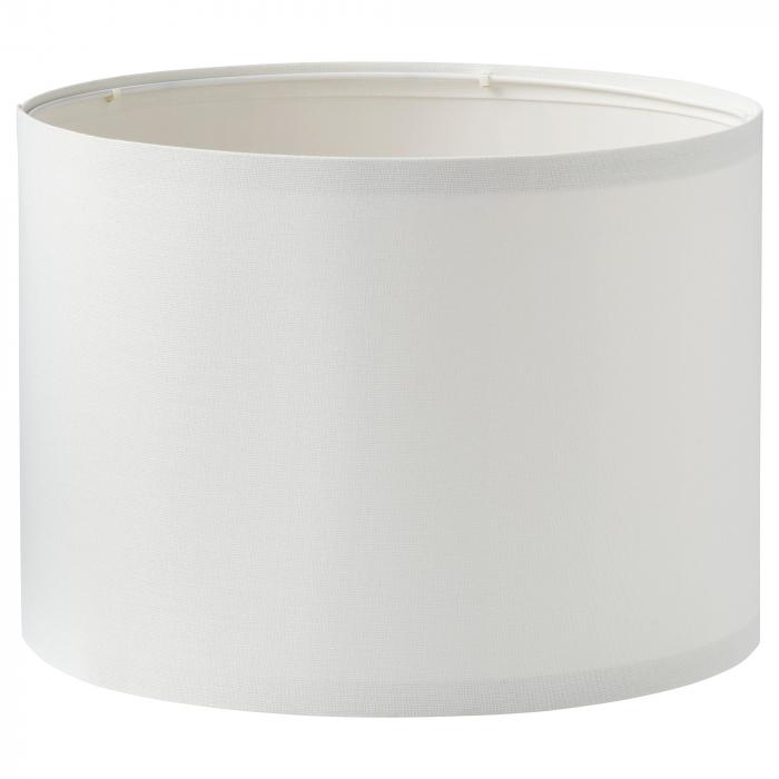 Veioză Dora, albă, cu bază metalică - 41cm 1