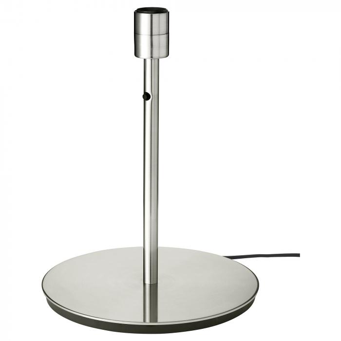 Veioză Dora, albă, cu bază metalică - 41cm 2