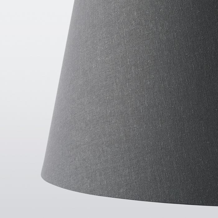 Veioza Sonya cu cadru metalic, gri închis - 40.5cm [4]