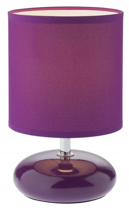 Veioză Delo, 1 x E14, violet [0]