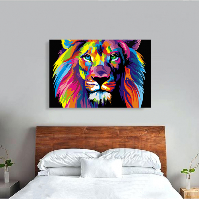 Tablou Canvas - Art Lion 1