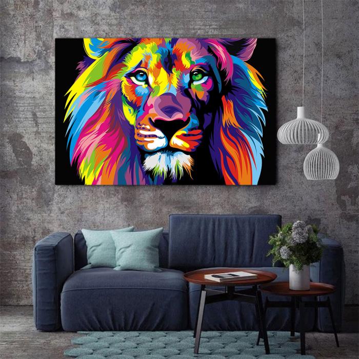 Tablou Canvas - Art Lion 2