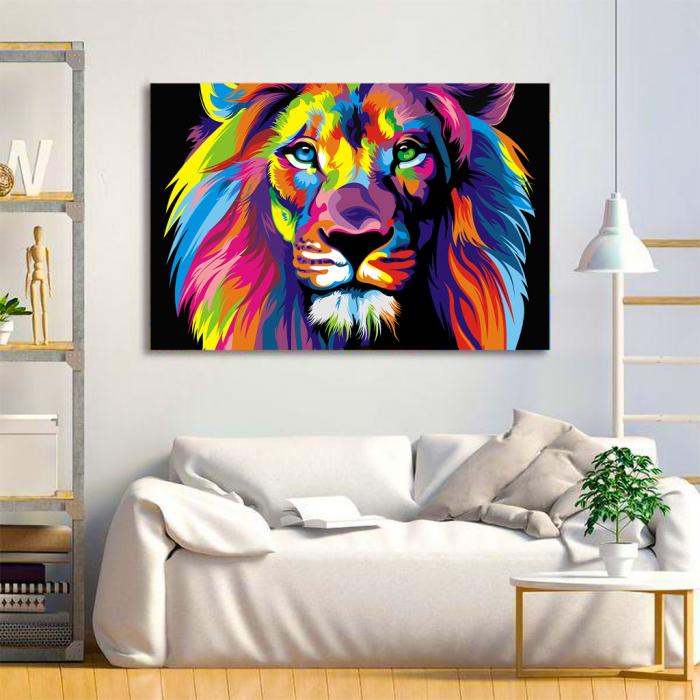 Tablou Canvas - Art Lion 3