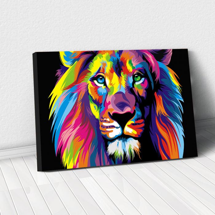 Tablou Canvas - Art Lion 0