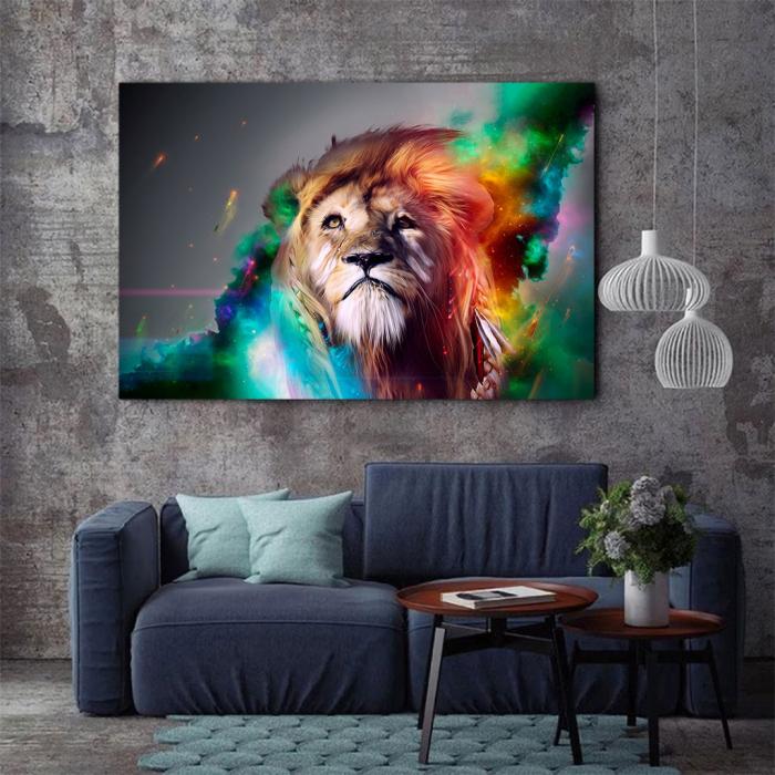 Tablou Canvas - Astra lion [1]