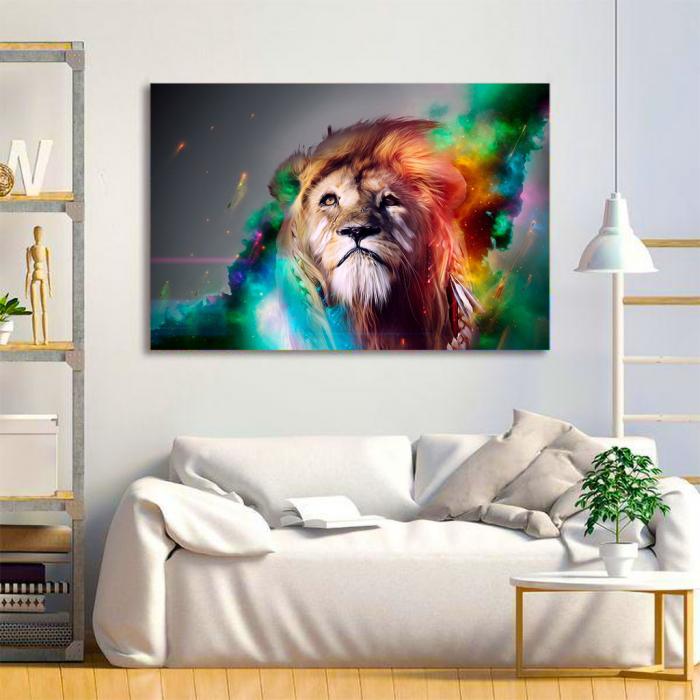 Tablou Canvas - Astra lion [2]