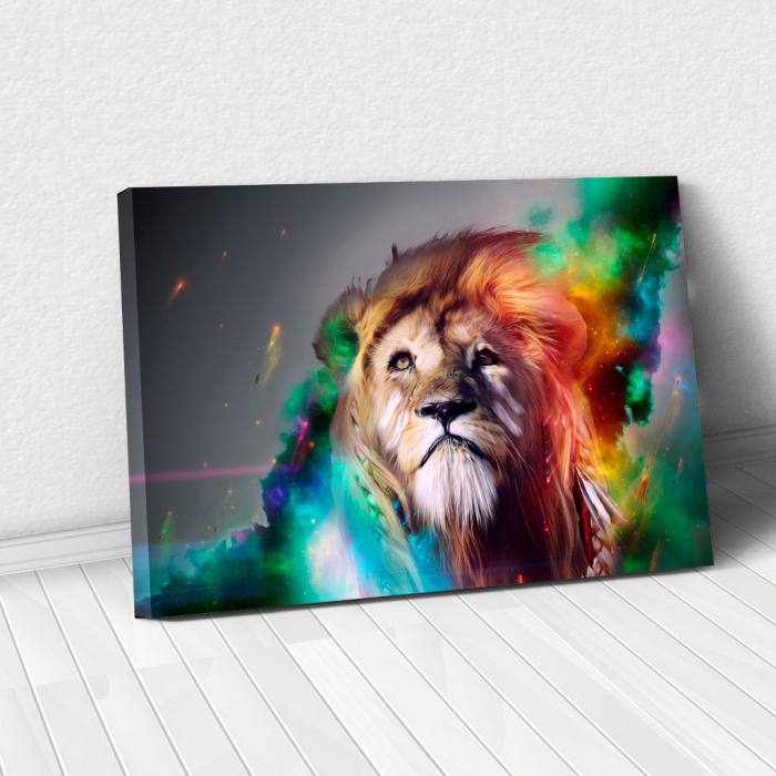 Tablou Canvas - Astra lion [0]