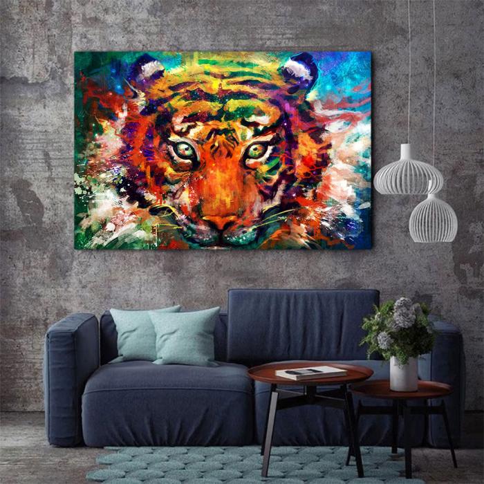 Tablou Canvas - Tiger artwork 1