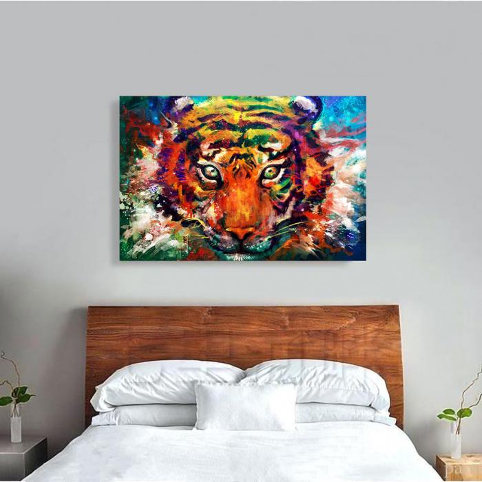 Tablou Canvas - Tiger artwork 2