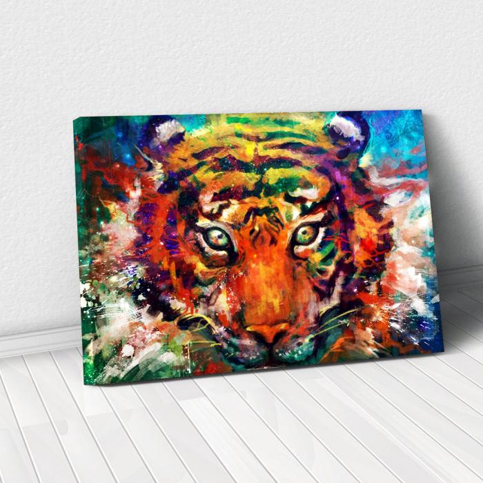 Tablou Canvas - Tiger artwork 0