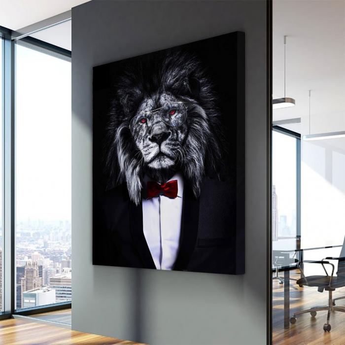 Tablou Canvas - Corporate lion [2]
