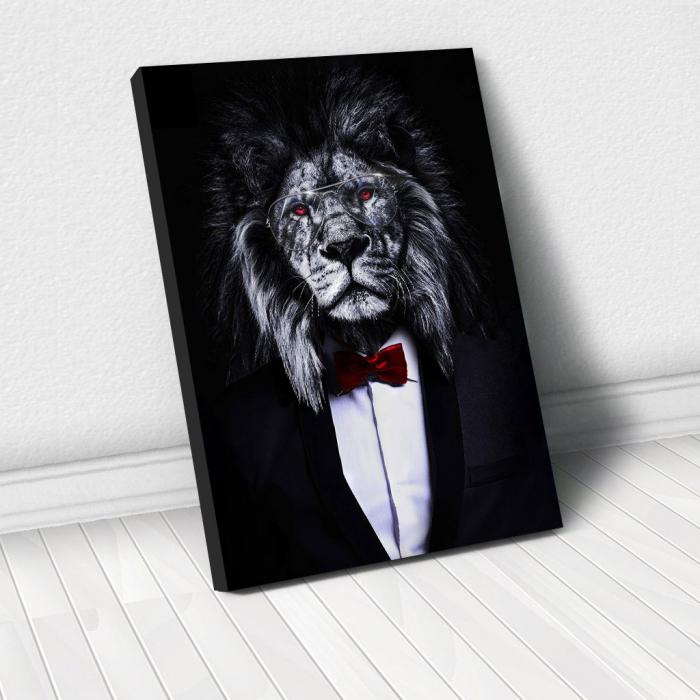 Tablou Canvas - Corporate lion [0]