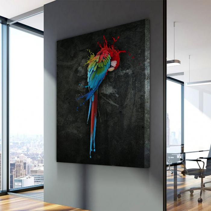 Tablou Canvas - Parrot 2