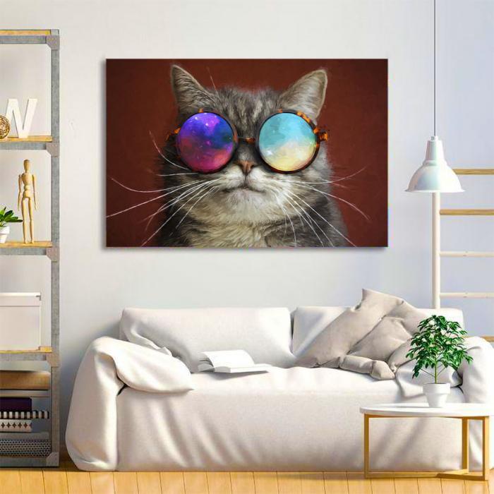 Tablou Canvas - Cool cat 1