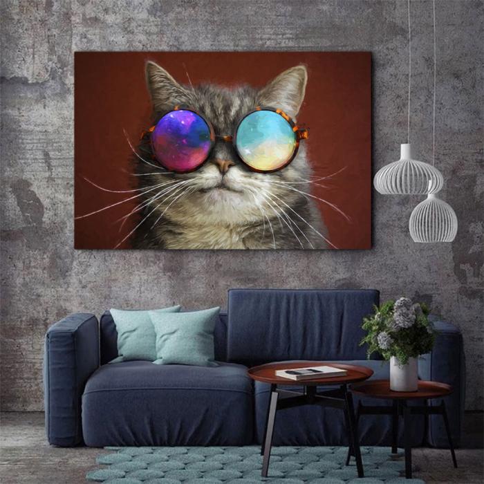 Tablou Canvas - Cool cat 2