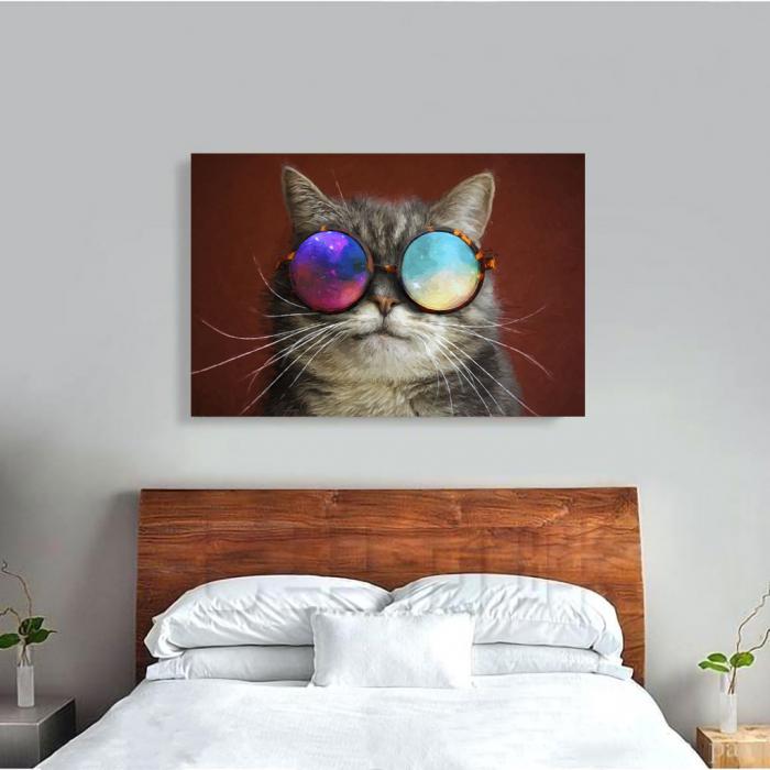 Tablou Canvas - Cool cat 3