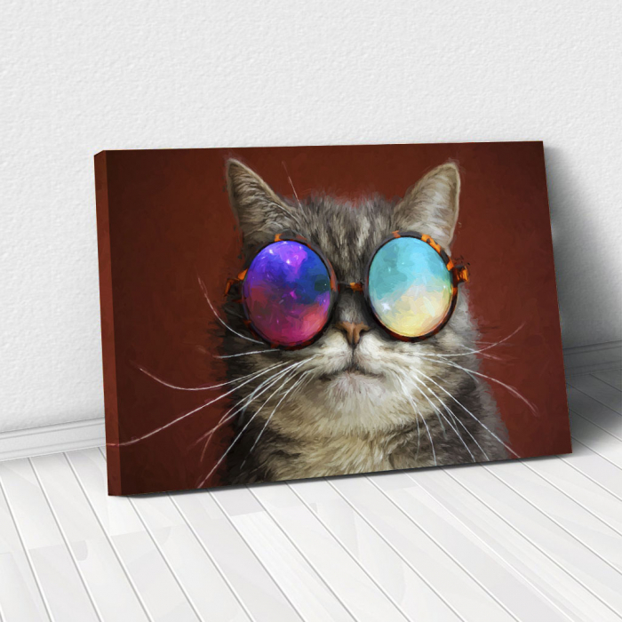 Tablou Canvas - Cool cat 0