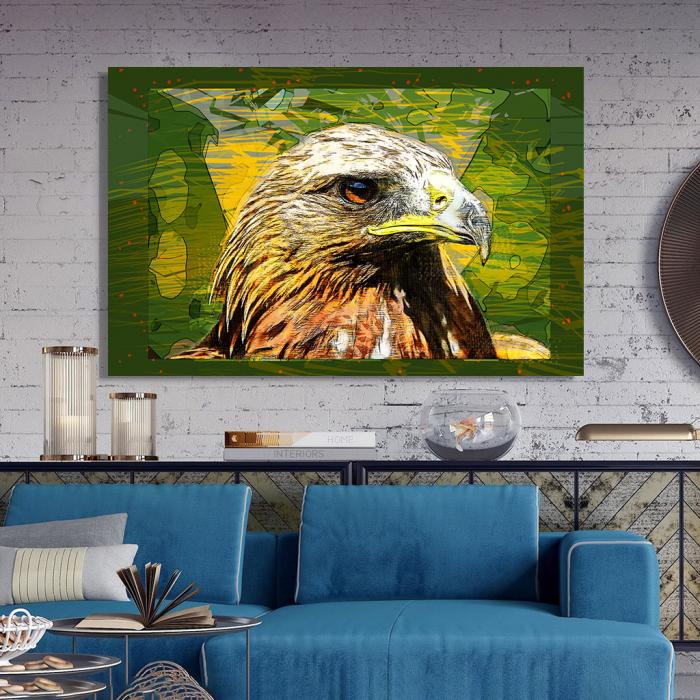 Tablou Canvas - Vultur cromatic 2